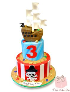 Pirate Ship Birthday Cake » Birthday Cakes