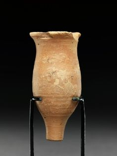 Associated place Asia › Indus Valley (place of creation) Date2500 - 1900 BC Material and techniqueterracotta Dimensions 8.7 cm (height), 4.3 cm (diameter) Material indexterracotta Object type indexflask