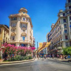 Granada,Calle Reyes Catolicos