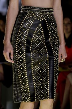 Versace Spring 2012 - Details