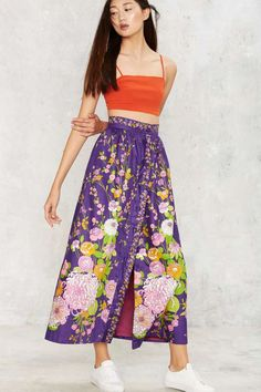 Vintage All Grown Up Maxi Skirt | Shop Vintage at Nasty Gal!