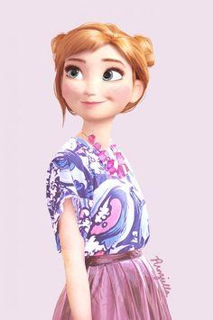 Anna - La Reine des Neiges