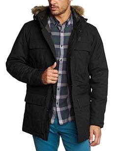This waterproof Parka is especially warm, durable and has ten pockets which provide plenty of storage space. The thick layer of synthetic insulation extends into the hood. The detachable faux Fur trim on the hood, the integrated fleece cuffs and the slightly longer length all provide additional...  More details at https://jackets-lovers.bestselleroutlets.com/mens-jackets-coats/active-performance/down-down-alternative/product-review-for-jack-wolfskin-mens-halifax-parka-jacke