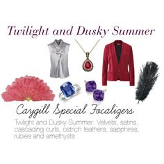 """""""Caygill Special Focalizers: Twilight and Dusky Summer"""" by expressingyourtruth on Polyvore"""