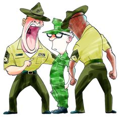 There's no rage like drill instructor rage. www.HireAVeteran.com