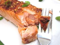 Ginger Salmon -- cook for 15 min instead of 20