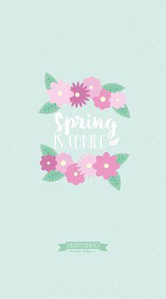 Wallpaper Spring - MARTAHUG