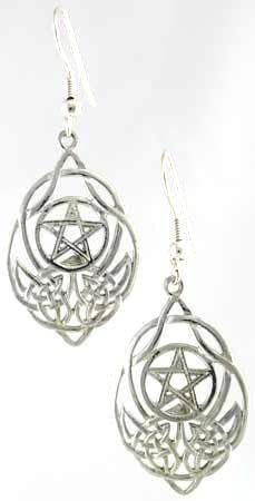 Sterling Silver Celtic Knot Pentagram Pentacle Earrings Jewelry Wiccan Wica Pagan Metaphysical Religious Amulet Women's: http://www.amazon.com/Sterling-Pentagram-Wiccan-Metaphysical-Religious/dp/B005P7G3GI/?tag=greavidesto05-20