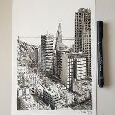 San Francisco in pen