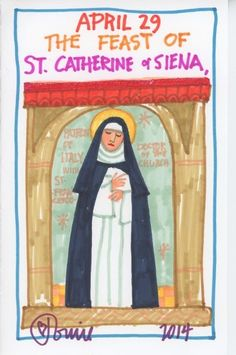 Catherine of Siena by Tomie dePaola. The Official Tomie dePaola Blog