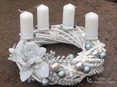 Advent Wreath, Christmas Decorations, Table Decorations, Hanukkah, Xmas, Wreaths, Party, Christmas Decor, Advent