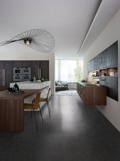 TOPOS | CONCRETE › Concrete › Modern style › Kitchen › Kitchen | LEICHT – Modern kitchen design for contemporary living