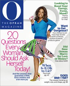 Our April issue features the 20 questions every woman should ask herself, as well as a guide to getting more out of your annual checkup, Dr. Phil's secret to achieving any goal and our spring beauty o-wards (and how you can win every item featured!).
