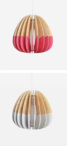 Products We Love: Wooden Pendant Lights