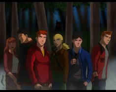 The team Teen Wolf style