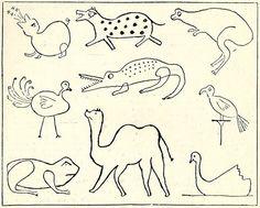 """""""Le Jeu Des Devinettes Zoologiques"""" from L'Encyclopedie de la Jeunesse, The Amalgamated Press/Grolier Society, 1923 (1947 edition) French language"""