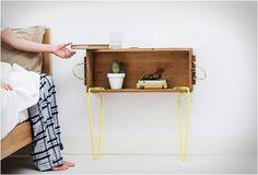 MÓVEIS DE ENCAIXE - SNAP  Snap é um acessório de design inovador que permite que você crie suas próprias peças de mobiliário. Como funciona? Bem, é bastante simples, você escolhe qualquer superfície que quiser, desde que a espessura tenha entre 1 à 4 cm, Basta anexar o sistema de pressão em torno dele para dar estabilidade .