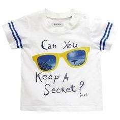 Ikks White T-shirt White - 70870 | Melijoe.com