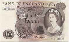 10 Pounds 1970 (Elizabeth II)  Großbritannien Königreich