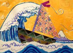 2nd grade japanese art - Google Search