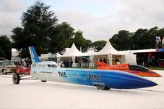 Blue Flame, the only natural gas powered land speed record car.