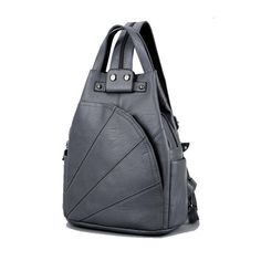 Leisure Women's Faux Leather Backpack