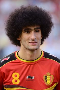 """What's the most popular sport in Belgium? That's an easy question, according to @manutd midfielder Marouane Fellaini: """"Everyone watches football, everywhere in the country."""""""