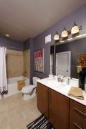 32 Perfect Apartment Bathroom Decorating Ideas On A Budget Whether there are one or two steps in the restroom, then utilize mosaic for the steps, when using tiles for the remainder of the ground. The bathroom is no longer… Continue Reading → Cute Bathroom Ideas, Cozy Bathroom, Rental Bathroom, Diy Bathroom Decor, Budget Bathroom, Bathroom Renovations, Bathroom Showers, Bathrooms, Bathroom Design Layout