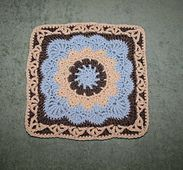 """Ravelry: Pizzazz - 12"""" Square pattern by Melinda Miller.. Free pattern!"""