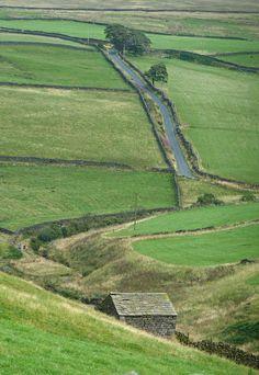 between Hebden Bridge and Haworth, Yorkshire