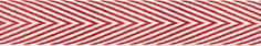 $7.50 Red and White Twill Ribbon