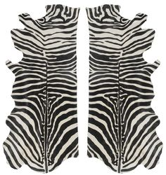 Zebra pattern cowhide available for rugs, walls, upholstery, pillows & more #cowhide #zebra #exotic