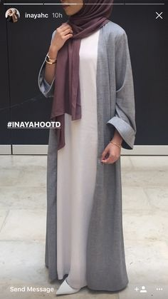 Abaya Style 427419820874335178 - Source by Abaya Fashion, Muslim Fashion, Modest Fashion, Fashion Clothes, Fashion Outfits, Eid Outfits, Hijabi Gowns, Hijab Dress, Iranian Women Fashion