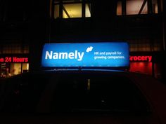 "Love this one. ""@NamelyHR: ""@c_specter: Light up your night with @NamelyHR #DiscoverNamely #hrtech #siliconAlley """""