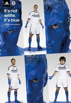 40134627c5 PREMIER LEAGUE NEW KIT SPECIAL  The strips your team will be wearing in  2013-14. Not white but blue. Aways shirt by Chelsea.