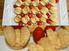 VINGERHAPPIES & DOOPSOUSE Finger Food Appetizers, Finger Foods, Appetizer Recipes, Gammon Recipes, Milk Bread Recipe, Snack Platter, Coffee Cookies, South African Recipes, Savory Snacks