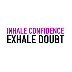 Be confident. Be Bar Method.
