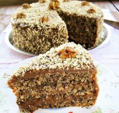 Reteta clasica de tort cu nuca, foarte fin si gustos. Este un tort de nuca preparat cu ingrediente la indemana oricui...