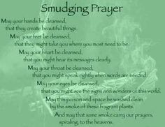 sage cleansing prayer - Google Search