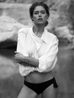 Vogue Netherlands - September 2013 - Doutzen Kroes. Photography: Paul Bellaart.