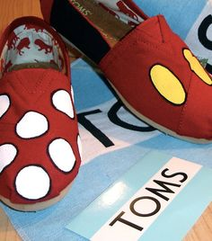 Mickey Mouse TOMS! Yes!