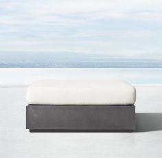 Marbella Aluminum Collection - Slate | RH Modern