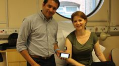 A blood sugar monitor that can stay in the body for five months is being tested on NHS patients with type 1 diabetes.