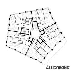 Limmat Tower, Dietikon | Switzerland | huggenbergerfries Architekten AG, Zurich | Photo: Florian Licht | ALUCOBOND® Anodized Look C31
