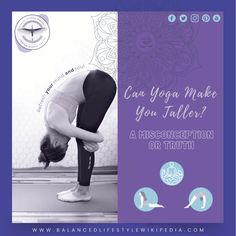 Can Yoga Make You Taller? – A Misconception or Truth! #health #healthy #healthybody #healthylifestyle #healthyliving #healthandwellness #healthandwellbeing #healthandfitness #fitness #exercise #balancezthekey #wellness #wellbeing #yogastretches #growtaller4idiots #yogaburn Posture Correction, How To Grow Taller, A Decade, Health And Wellbeing, Burns, Mindfulness, This Or That Questions, Exercise, Yoga
