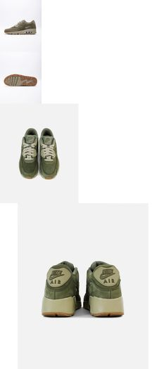 Boys Shoes 57929: Nike Air Max 90 Winter Prm (Gs) 943747-200 Medium Olive Youth Boy S Casual Shoes -> BUY IT NOW ONLY: $49.95 on #eBay #shoes #winter #medium #olive #youth #casual