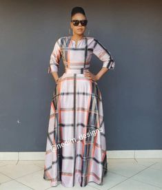 Trendy ideas on african fashion outfits 090 African Maxi Dresses, African Dresses For Women, African Attire, African Wear, African American Fashion, African Print Fashion, Africa Fashion, African Fashion Designers, African Traditional Dresses