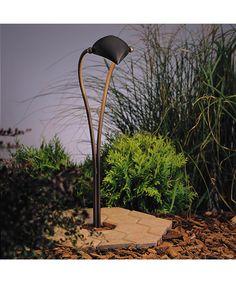 Kichler 15330 Adjustable Crescent Landscape Path Light | Capitol Lighting 1-800lighting.com