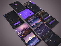 TOSS up app redesign concept (all screens)