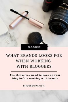 Are you a blogger that wants to work with brands and make an income from your blog? Then you need to check out these important blogging tips